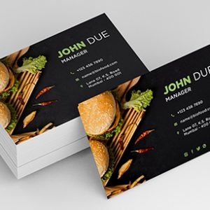 Lamination Business Cards
