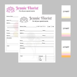 4.25″ x 5.5″ Business Forms
