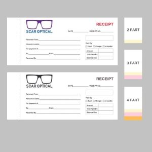 3.5″ x 8.5″ Business Forms